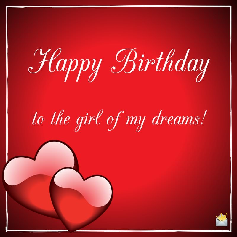 Romantic Birthday Love Messages: Fantastic Birthday Wishes For Your Girlfriend