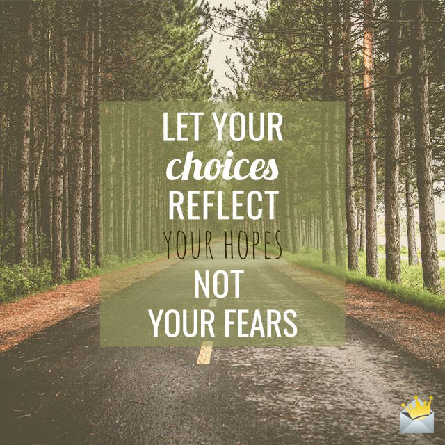 Let-your-choices-reflect
