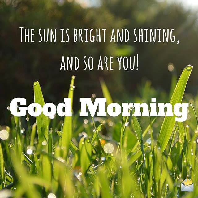 43 Good Morning Quotes To Make Them Shine Bright