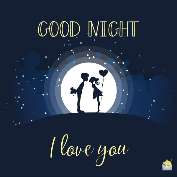 Good night love Messages for him, her, wife