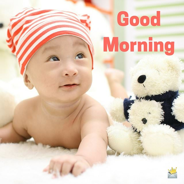 Good Morning Baby Cute : Good morning images to make you smile