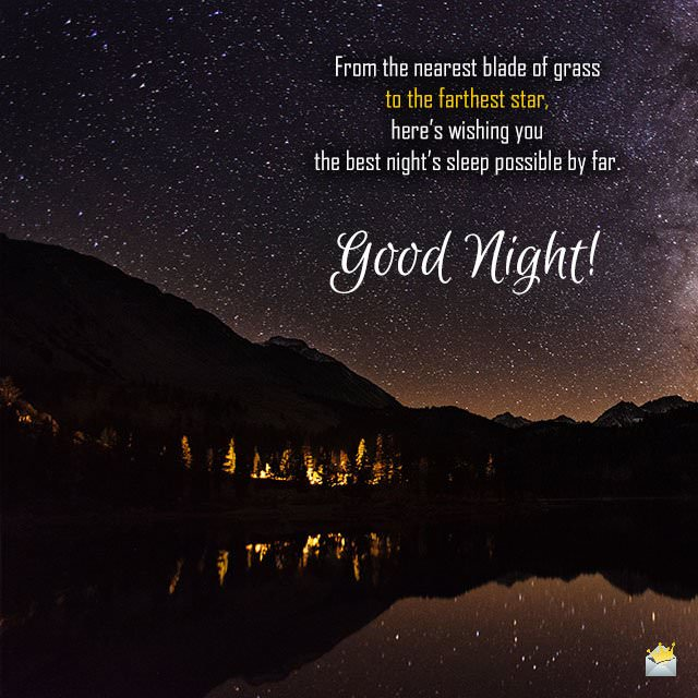 Good Night Quotes | Sweet Dreams of Serenity