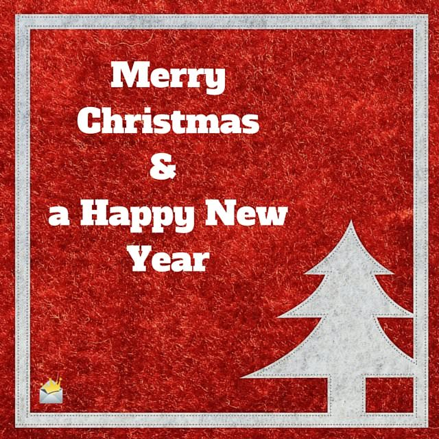 Merry Christmas & a Happy NewYear