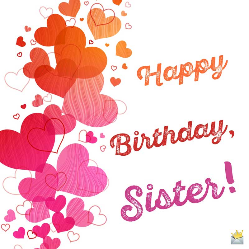 Sisters Are Forever – Cute Birthday Card for Sister