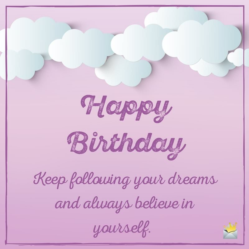 Sisters are forever unique birthday wishes for your sister happy birthday keep following your dreams and always believe in yourself m4hsunfo