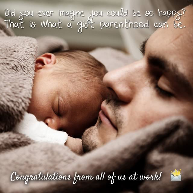 That is what a gift parenthood can be.