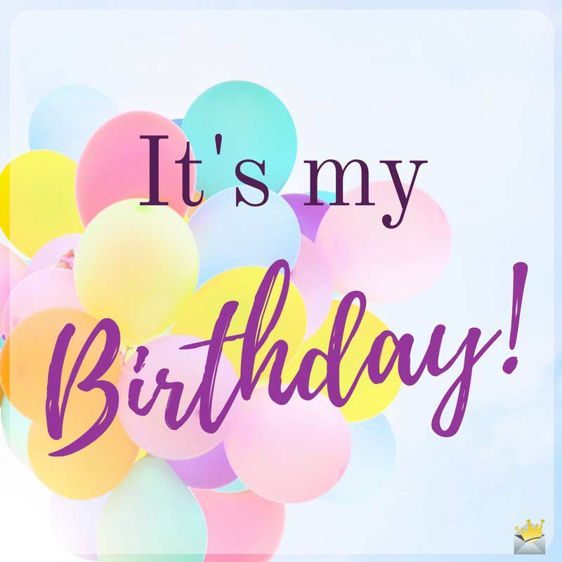 Awe Inspiring Birthday Wishes For Myself Happy Birthday To Me Personalised Birthday Cards Veneteletsinfo