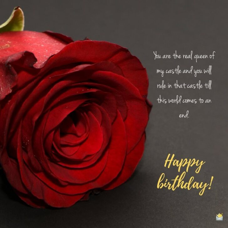 Happy Birthday, Love! | Romantic Wishes for Your Wife