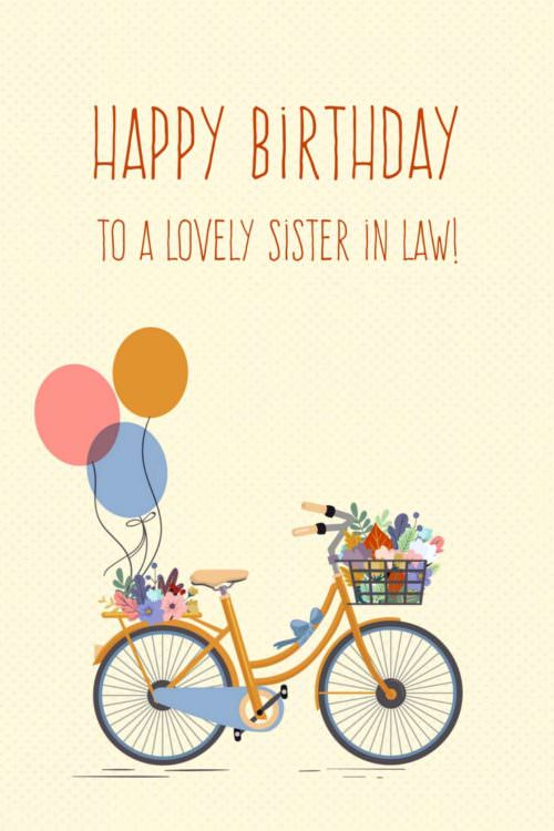 The Best Happy Birthday Wishes For Your Sister-in-law