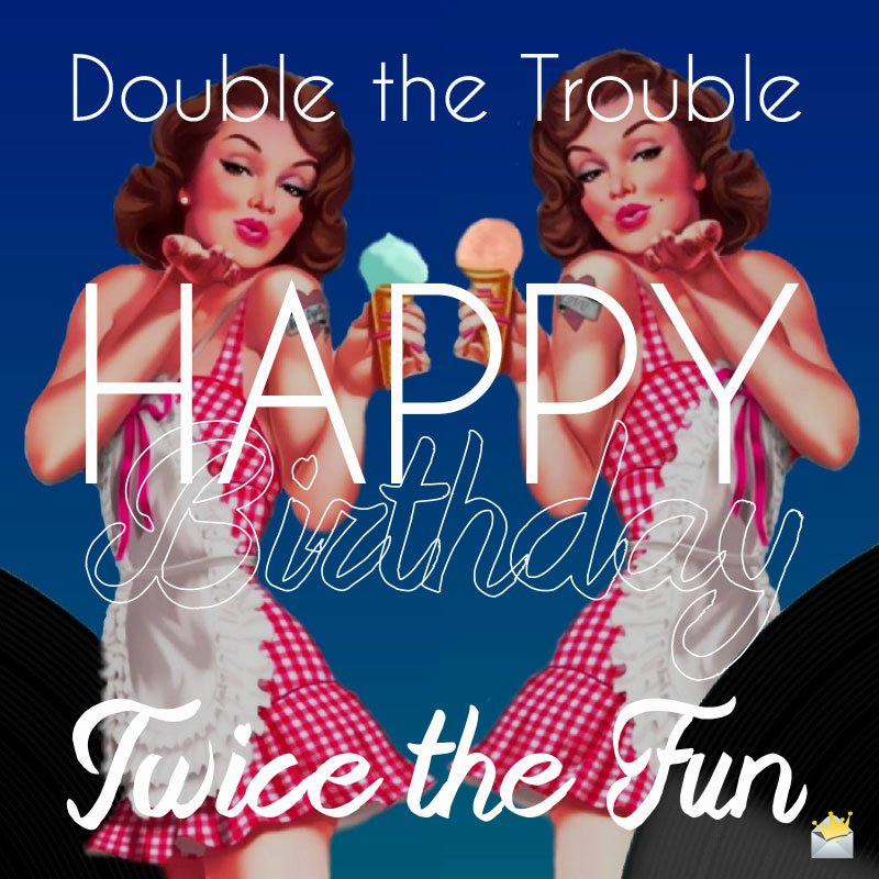 Image result for happy birthday twins