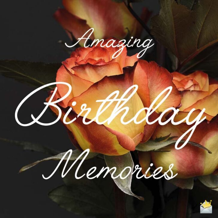 Birthday Wishes for a Widow or a Widower