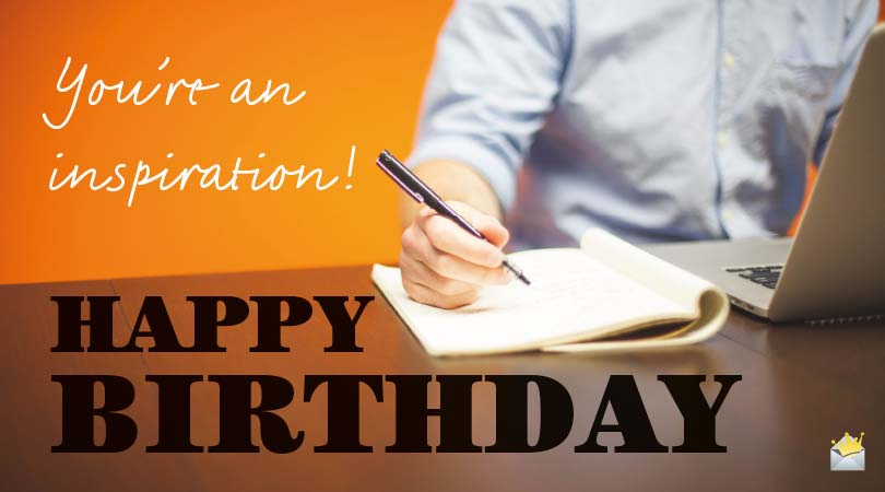 birthday messages for people of various professions