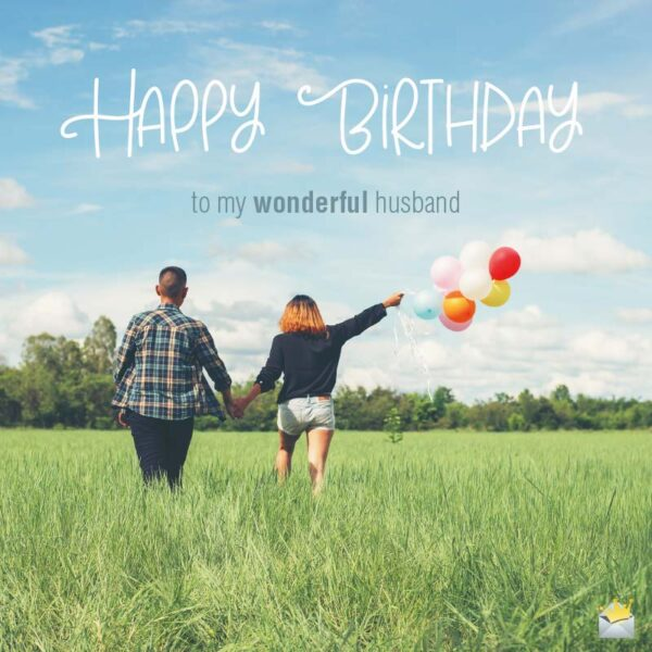 Happy Birthday Wishes For My Husband