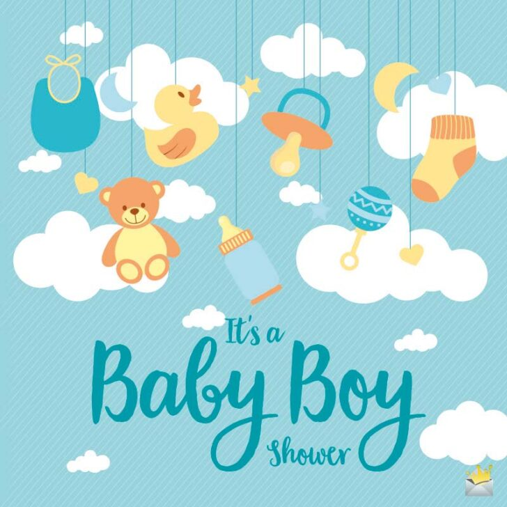 And So it Begins! | Baby Shower Wishes