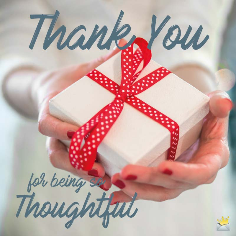 Thank you Messages for a Gift You Received
