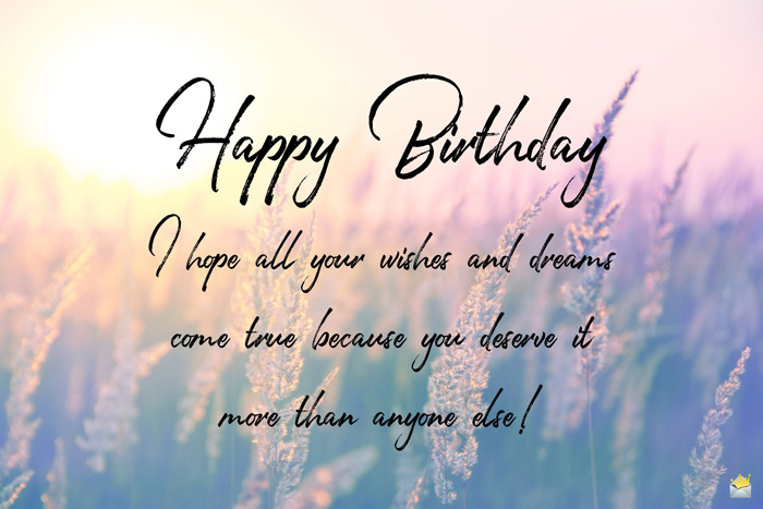 Happy birthday quote for mom on image for easy sharing.