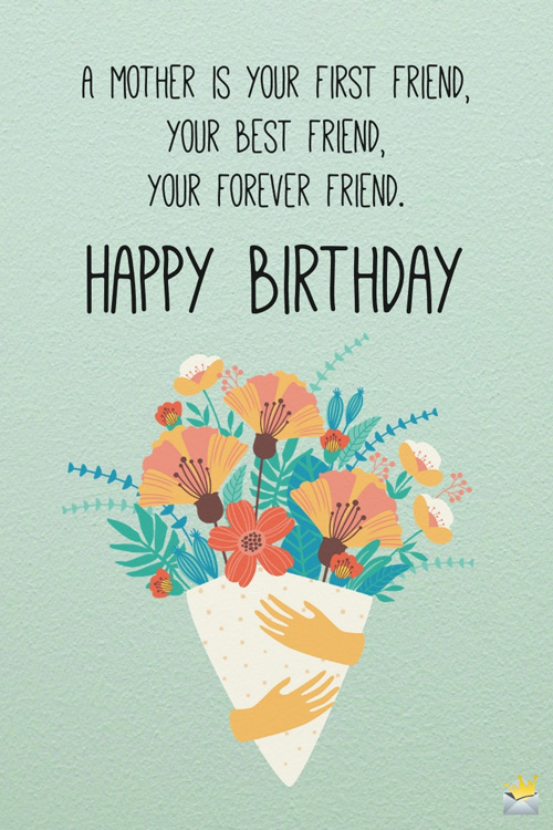 Fabulous Birthday Quotes For Mom Thank You For Always Being There Funny Birthday Cards Online Fluifree Goldxyz