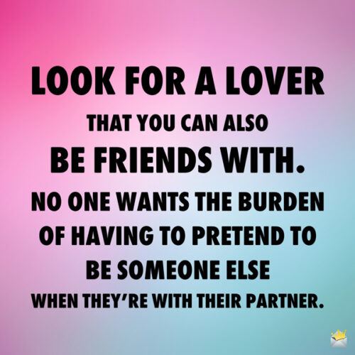 Finding love quote on an image you can share.