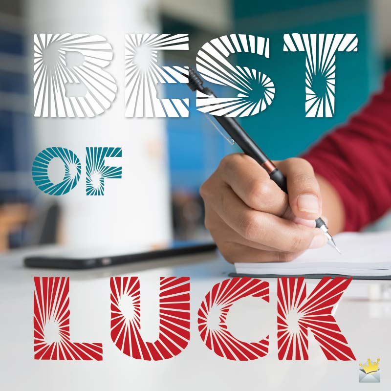 Good Luck Wishes For Exams