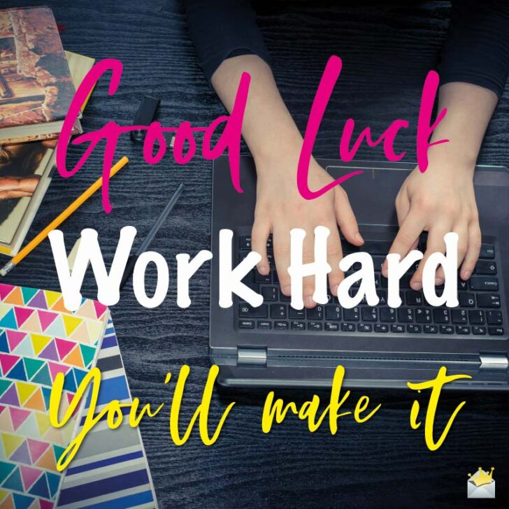 Fingers Crossed | Good Luck on your Exams!