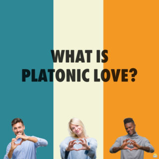 What is platonic love?