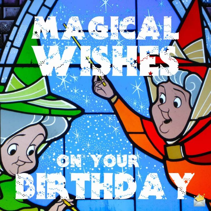 Happy Birthday, Fairy Godmother! | 36 Birthday Wishes for your Guardian Spirit