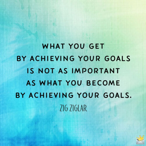 Powerful quote by Zig Ziglar to boost your morning or share it with friends.