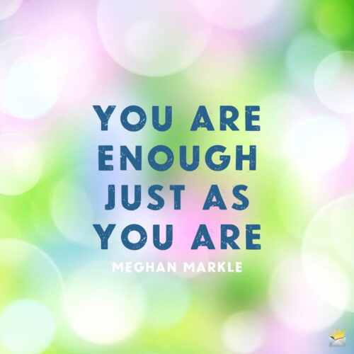 Good morning quote by Meghan Markle.