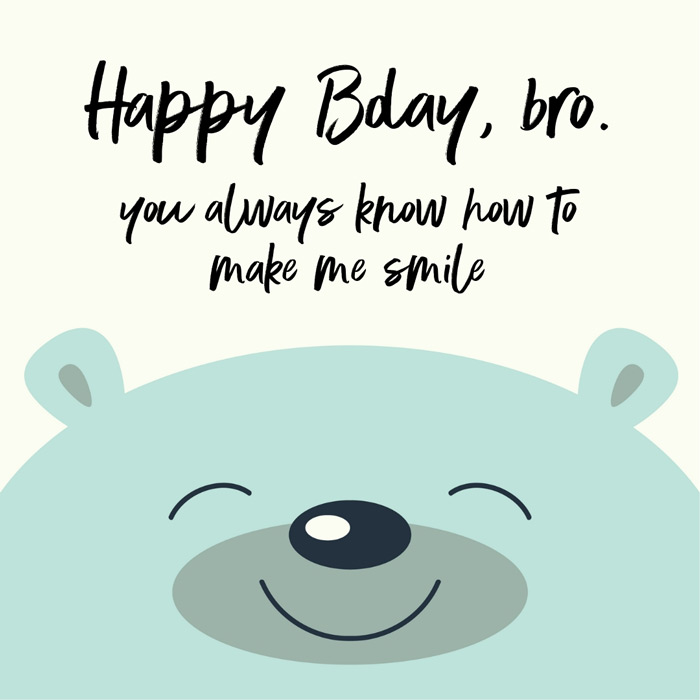 Marvelous Happy Birthday Big Brother For A Great Bro Out There Personalised Birthday Cards Bromeletsinfo