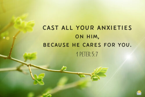 Bible verse for morning inspiration and peace of mind.