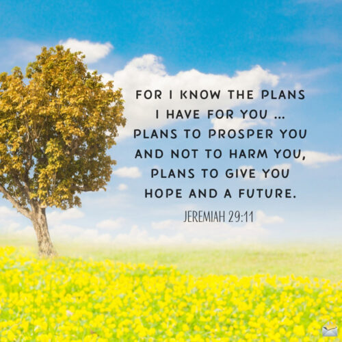 Bible quote for morning inspiration.