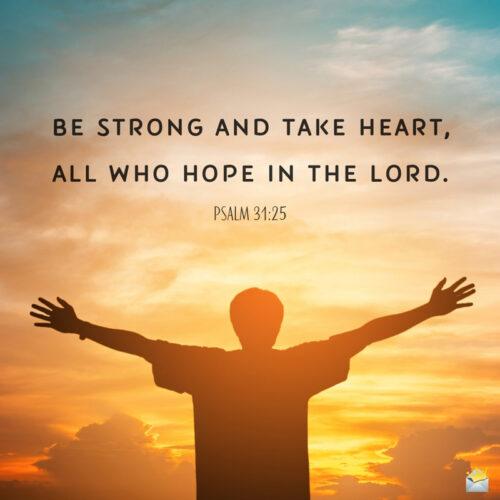 Bible verse for morning inspiration.