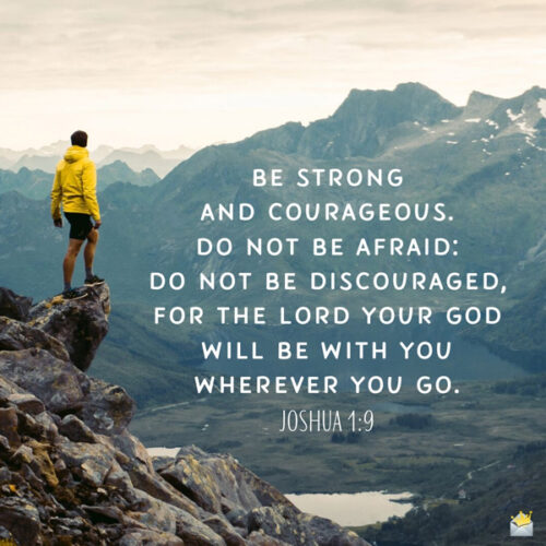 Bible verse for morning contemplation.