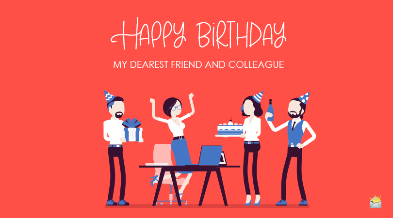 40 Great Birthday Messages For Coworkers