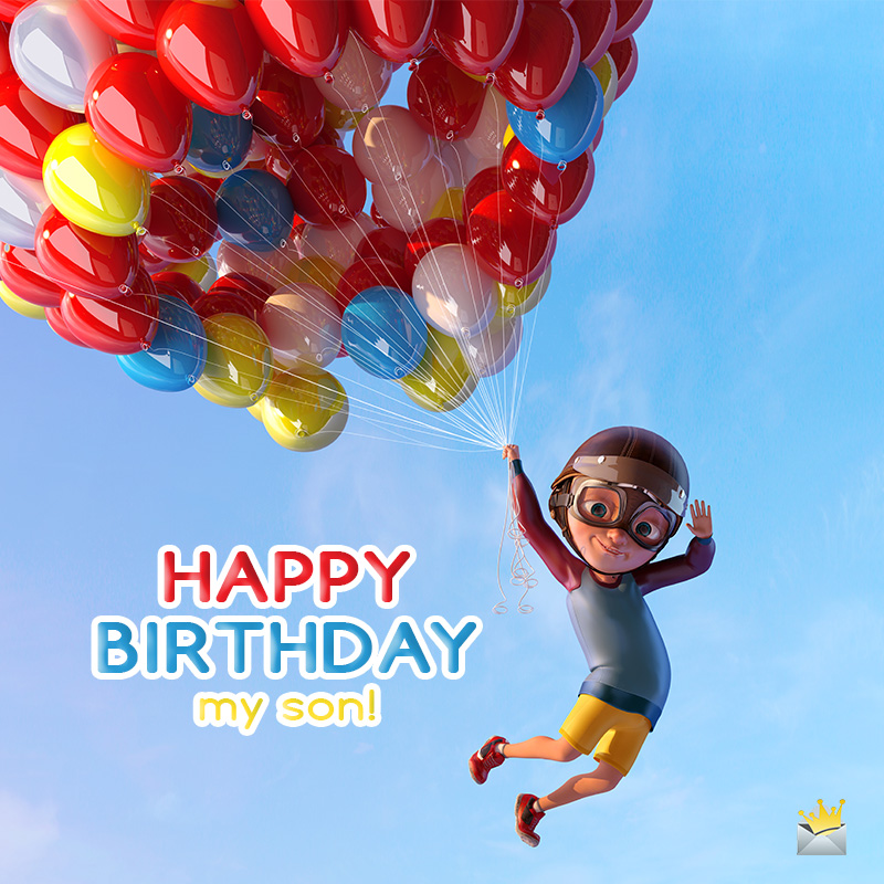Miraculous Happy Birthday Wishes For Your Son Proud Parents Celebrating Funny Birthday Cards Online Alyptdamsfinfo