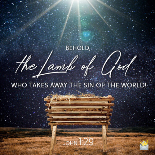 Christmas bible quote to help you wish on messages and social media.