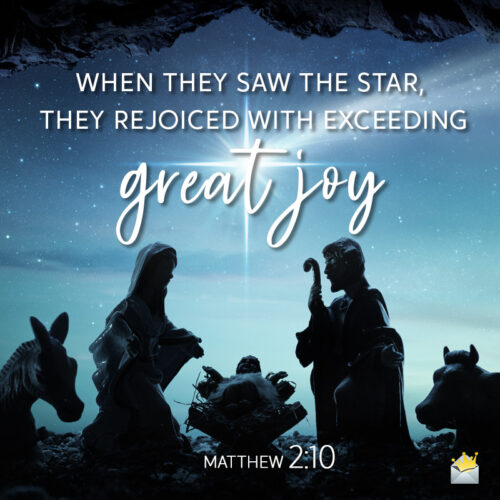 Christmas bible verse for wishing to loved ones.