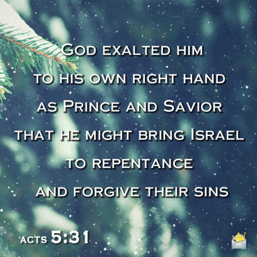 Christmas bible verse to help you wish on message, chat or social media.