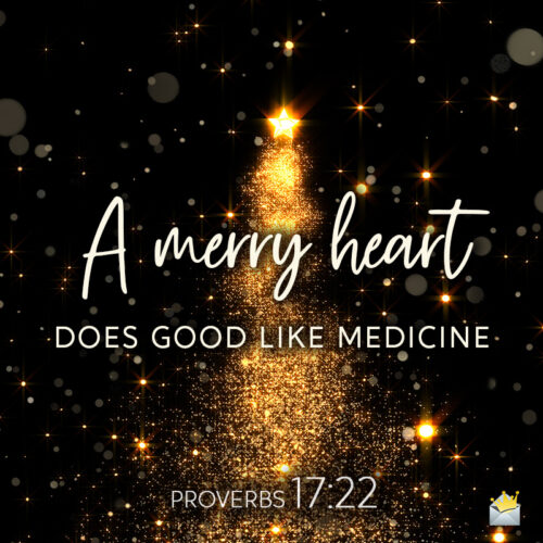 Christmas bible verse on image for wishing to friends and family.