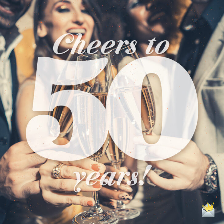 Let's Drink To That! | 50th Birthday Speeches