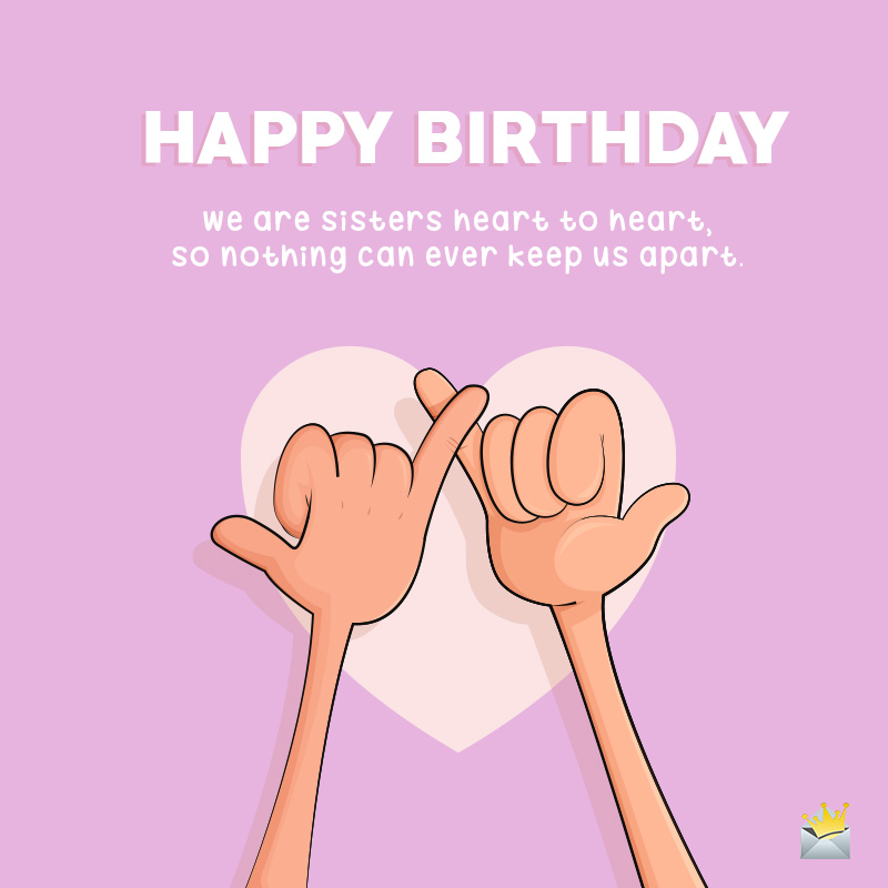 Super Happy Birthday Sister Sisters Are Forever Personalised Birthday Cards Paralily Jamesorg