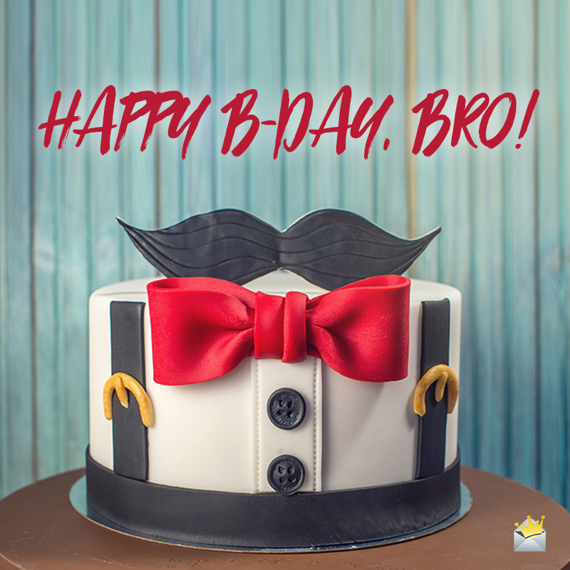 Prime Birthday Wishes For Your Brother Happy Bday Bro Personalised Birthday Cards Bromeletsinfo