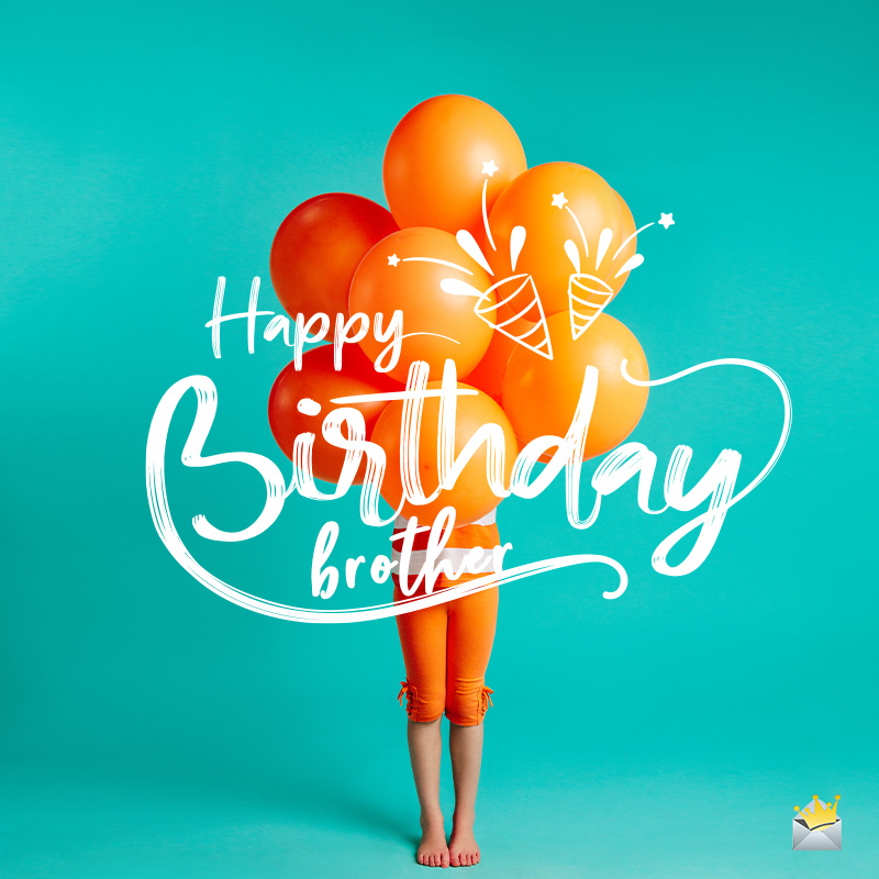 Stupendous Birthday Wishes For Your Brother Happy Bday Bro Personalised Birthday Cards Bromeletsinfo
