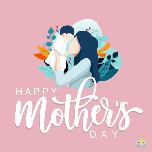 Happy Mother's day image for sharing.