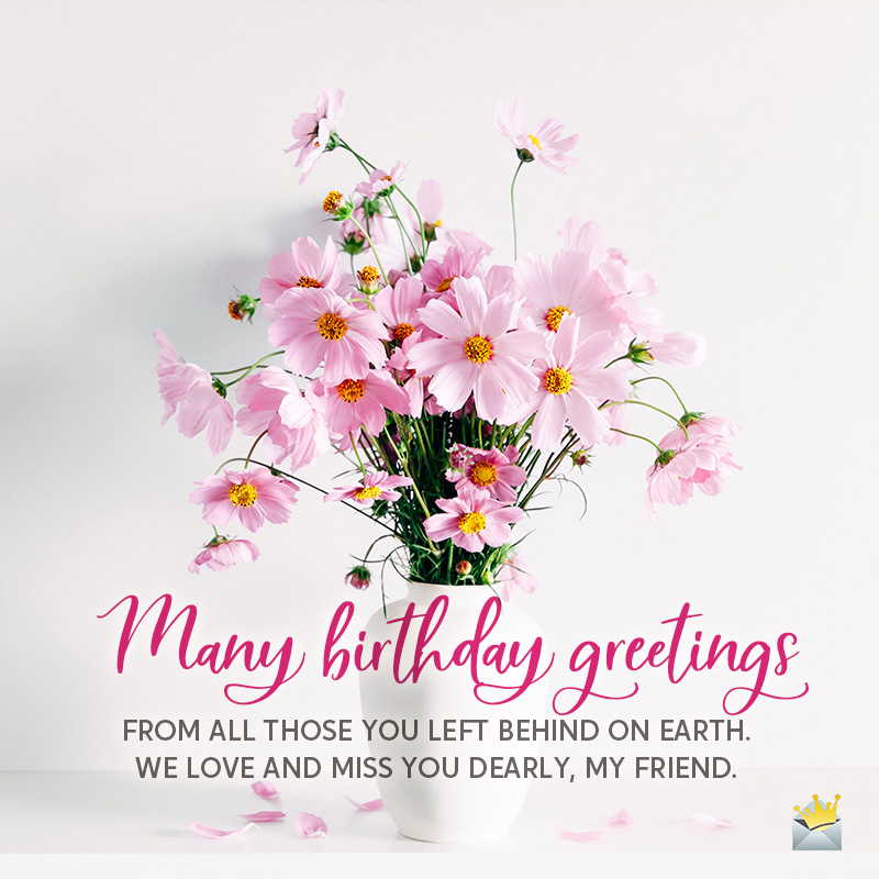 Happy Birthday in Heaven | Wishes for those who passed away