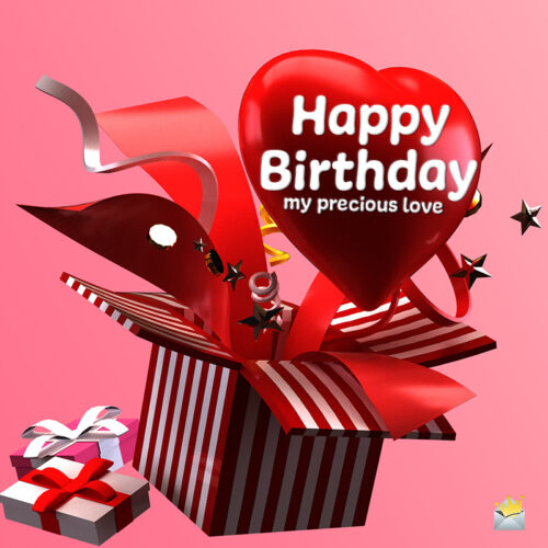 Birthday image for love.