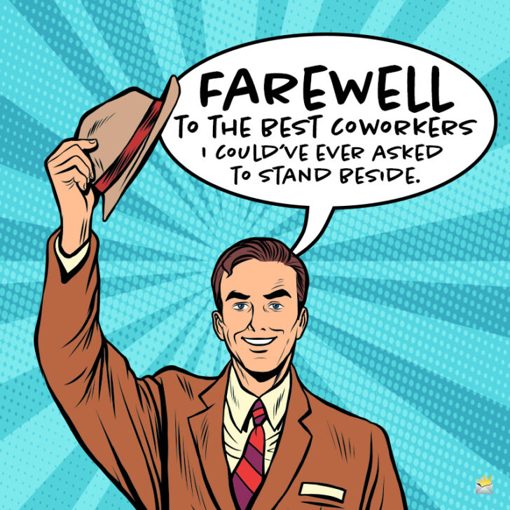 Goodbye Messages When You or a Colleague Leave the Company