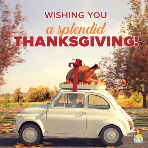 Thanksgiving wish to share with friends on chats and emails.