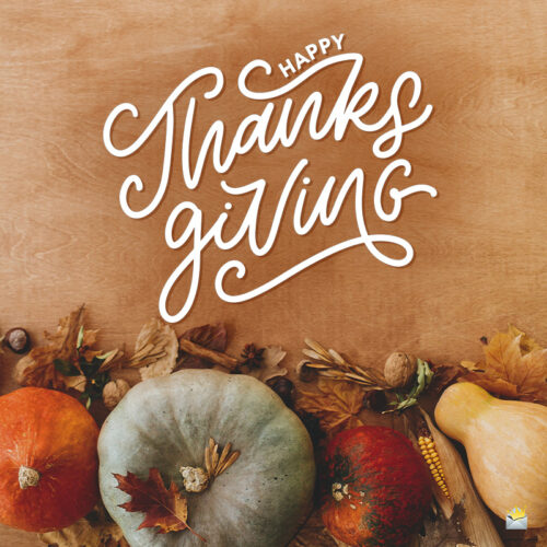 Thanksgiving wish to share.