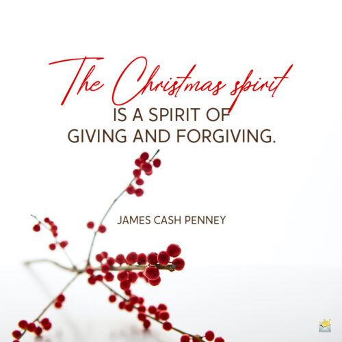 Christmas quote.